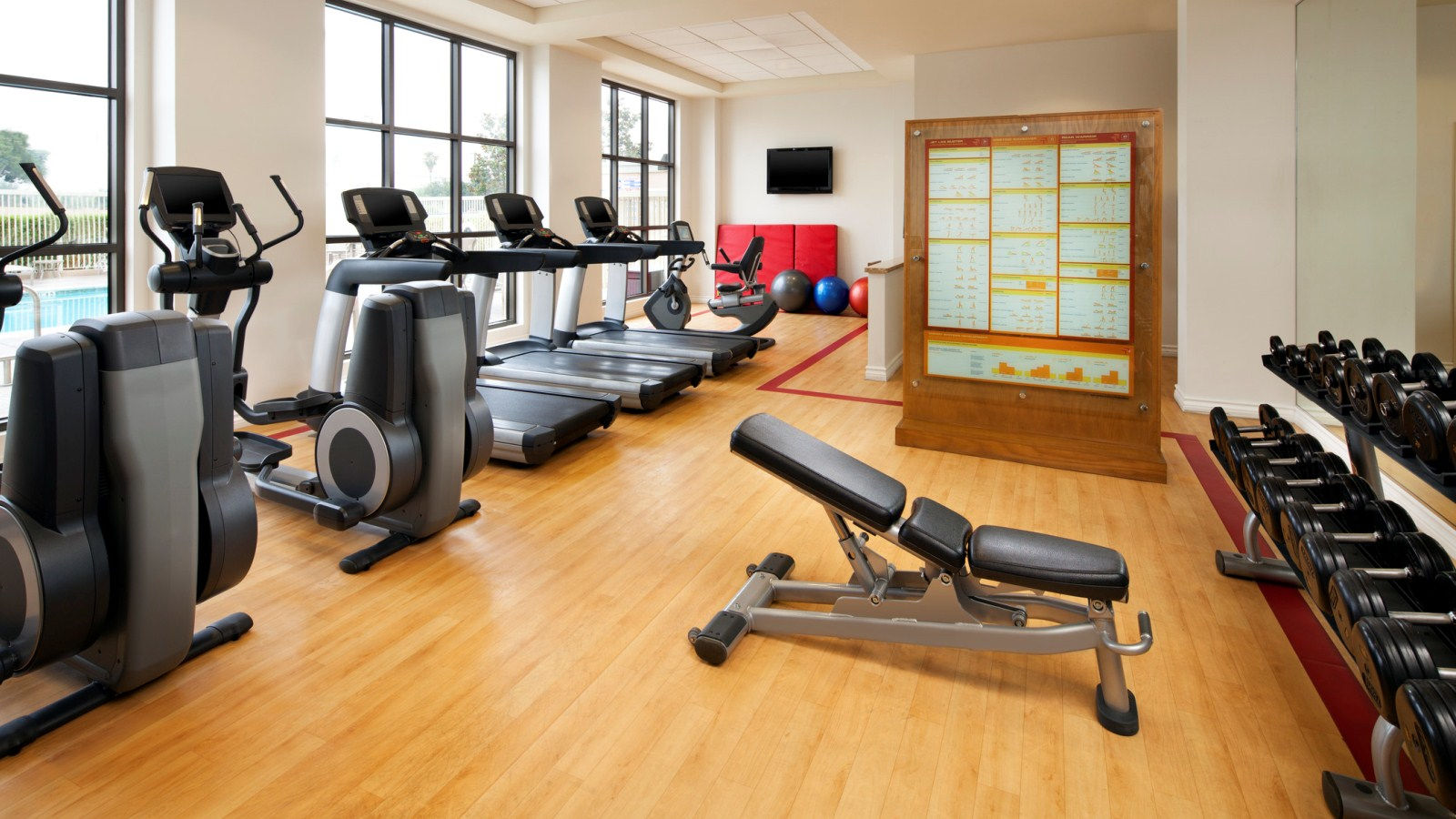 Fitness Center - Sheraton Garden Grove